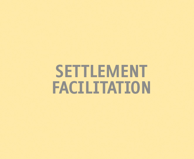 settlement facilitation